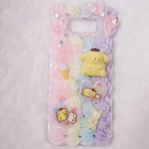 Galaxy S8 PLUS Pom Pom Purin Whip Case
